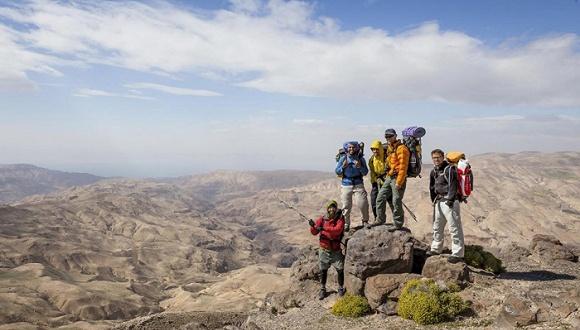 600余公里的徒步之旅是中东旅游业之春?