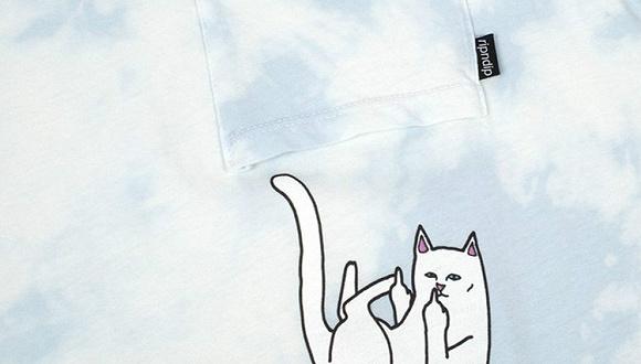 """【是日美好事物】""""中指猫""""RIPNDIP限定系列很萌贱 昭和风格的书签盒挺精致"""