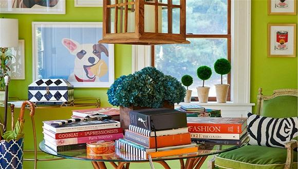 彩通说的2017年度绿也可以用在家里 怎么配色看完这篇就知道