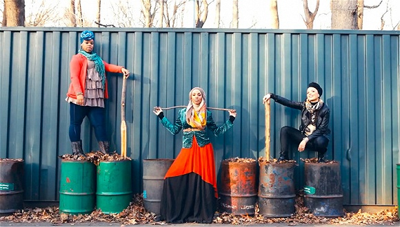 伊斯兰时尚还是个敏感话题 但有家美术馆决定大胆为它办场秀