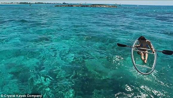 全透明设计的Kayak拥有引爆社交媒体的高颜值 海岛湖畔酒店可以考虑先置办一件