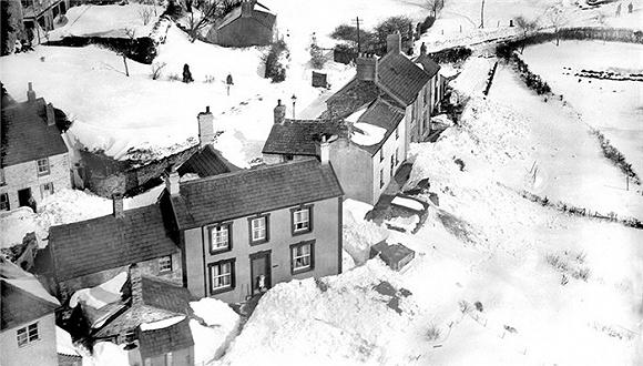来自冬日英国的老照片