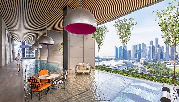 像新加坡南岸JW万豪酒店一样,扎根城市社区生活