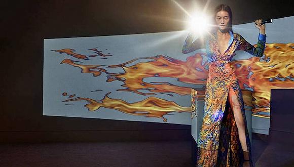La Perla说要做成衣是认真的 这不刘雯拍的广告大片都出来了