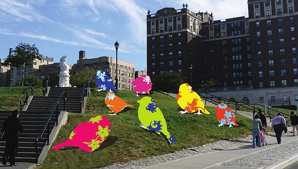 优衣库又在纽约大打艺术牌 一口气在十个公园开展览
