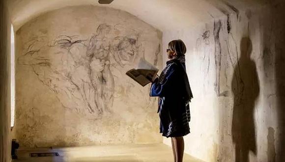 偶然间发现的的密室,居然珍藏米开朗琪罗的大作