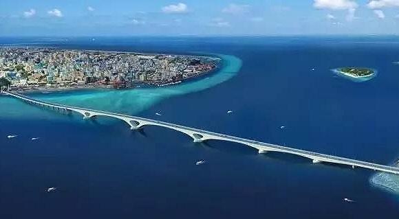 """马尔代夫的新""""景点""""出自中国之手"""