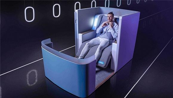 让飞行座椅提供居家质量的睡眠,Simba Sleep设计了一款最先进飞机座椅