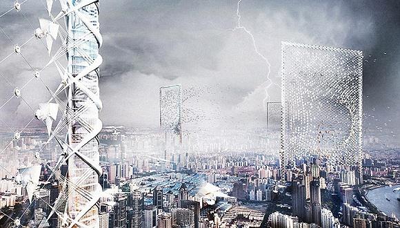 未来摩天大楼,一场关于垂直生活空间的美学竞赛