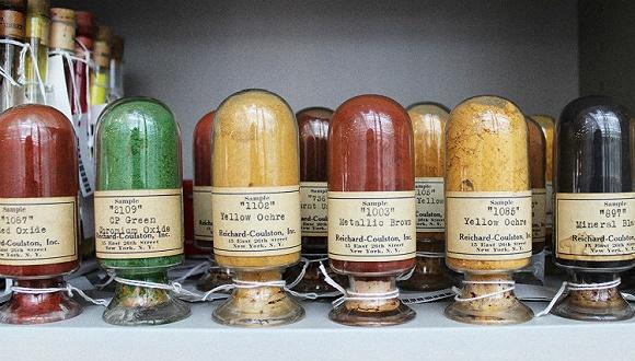 世界上最稀有的颜色 都被秘密藏在了哈佛图书馆