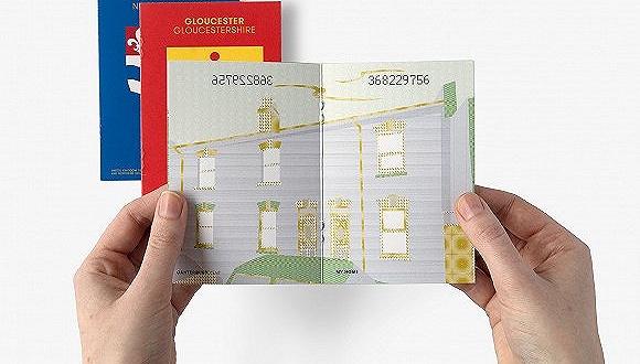 英国脱欧后人们是怎么想的,护照设计者用作品表达了想法