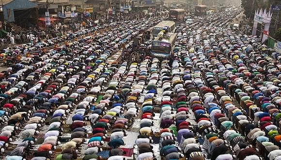 【图赏】全球那些规模盛大的信仰集会