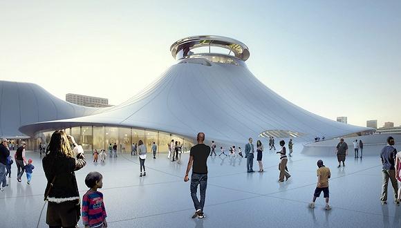 星战之父博物馆去洛杉矶还是旧金山?马岩松干脆为两地各出了一个新方案