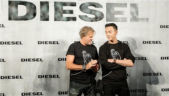 被请来做联名的陈伟霆 能帮DIESEL达成它在中国的目标吗?