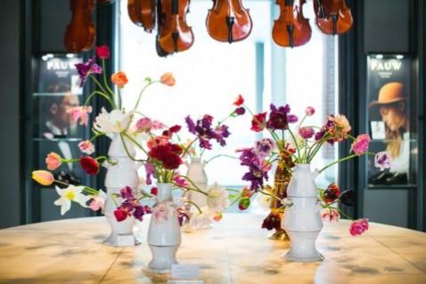 年年岁岁花相似?荷兰音乐学院酒店今年准备用私家培育的第8001种郁金香装饰酒店