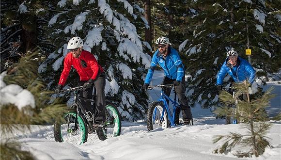 雪地骑行能像滑雪一样深受欢迎吗?