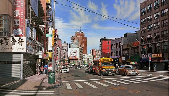 纽约设计师现在都流行去唐人街做活动 还在那里发展出了一个布料市场