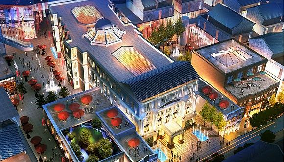 离天安门最近的街区出现了一片新现代建筑群 想让人们过上中国式新生活