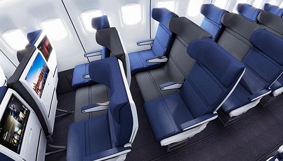 这样的飞机,我就爱坐中间