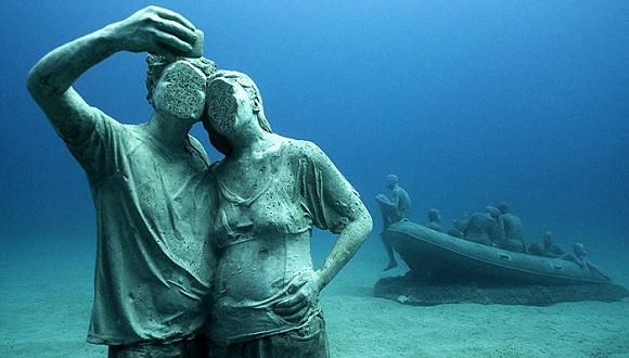 欢迎来到欧洲首家水下博物馆