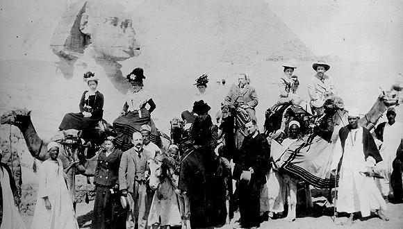 维多利亚时代的旅行者现身说法,向你展示100年前的埃及游览攻略