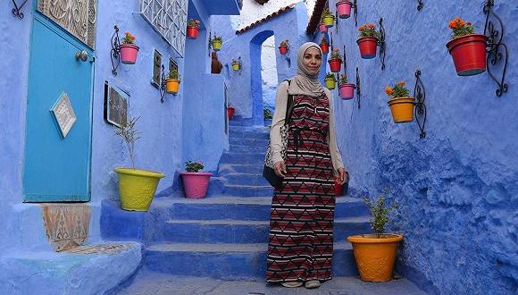 女性旅行样板间|身为穆斯林旅行博主,戴头巾不会让她的旅程轻松