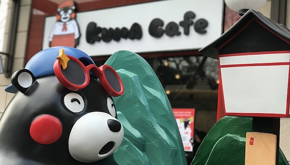 熊本熊咖啡店终于在上海开张 除了吃喝还能买到日本特产