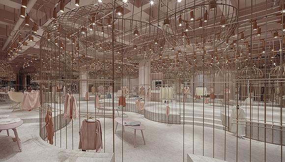 据说在杭州这家线下试衣间 你能试穿天猫上最受欢迎的一百个女装品牌