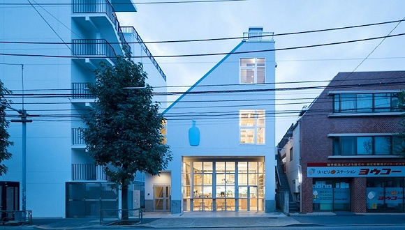 咖啡迷都知道的东京蓝瓶咖啡馆 把新店开在了一个僻静的小街区