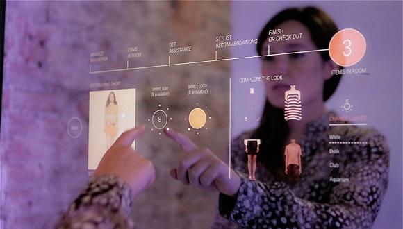 当试衣间的镜子智能化后 你可能会不自觉地买下更多衣服