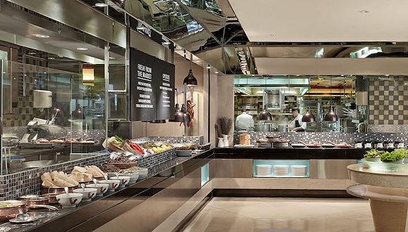 香港朗廷酒店早八点人声鼎沸的早餐画风撩拨这个城市的早餐文化