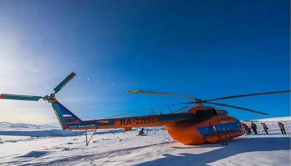 图集:中国夫妇自驾飞机探险堪察加半岛