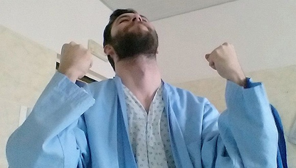 27岁小伙患上癌症,记录下自己与病魔抗争的点滴
