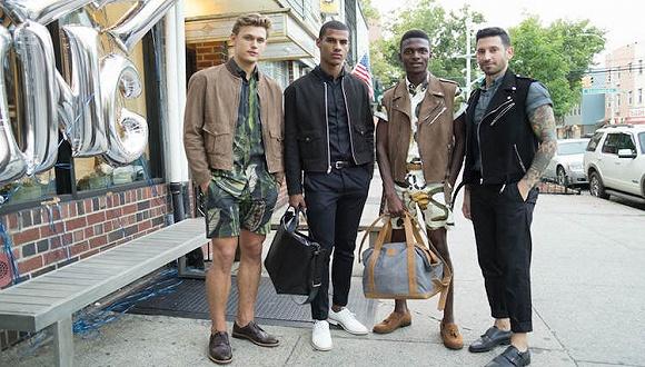 """时装界也开始流行""""全素""""概念 比如纽约这家新开的男装店"""