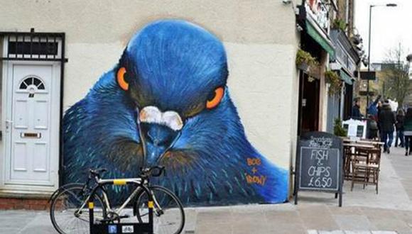 发现街头艺术引爆社交媒体的能力之后,每个城市都想涂张艺术脸